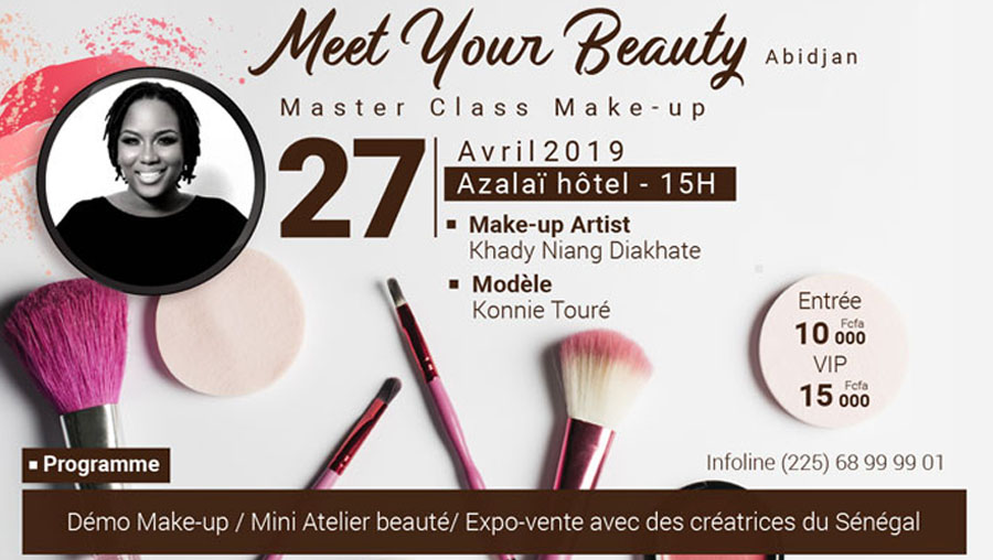 « Meet your beauty » 3ème édition à Abidjan ce 27 avril