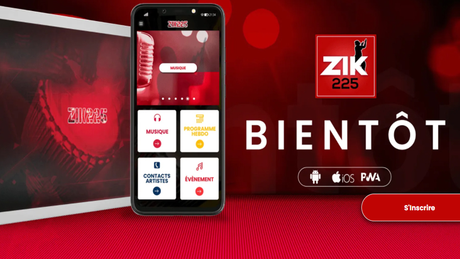 L'artiste chanteur ivoirien Pat Sako lance une application mobile  » ZIK 225″